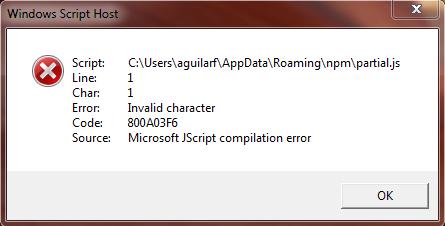 Windows script host сценарий
