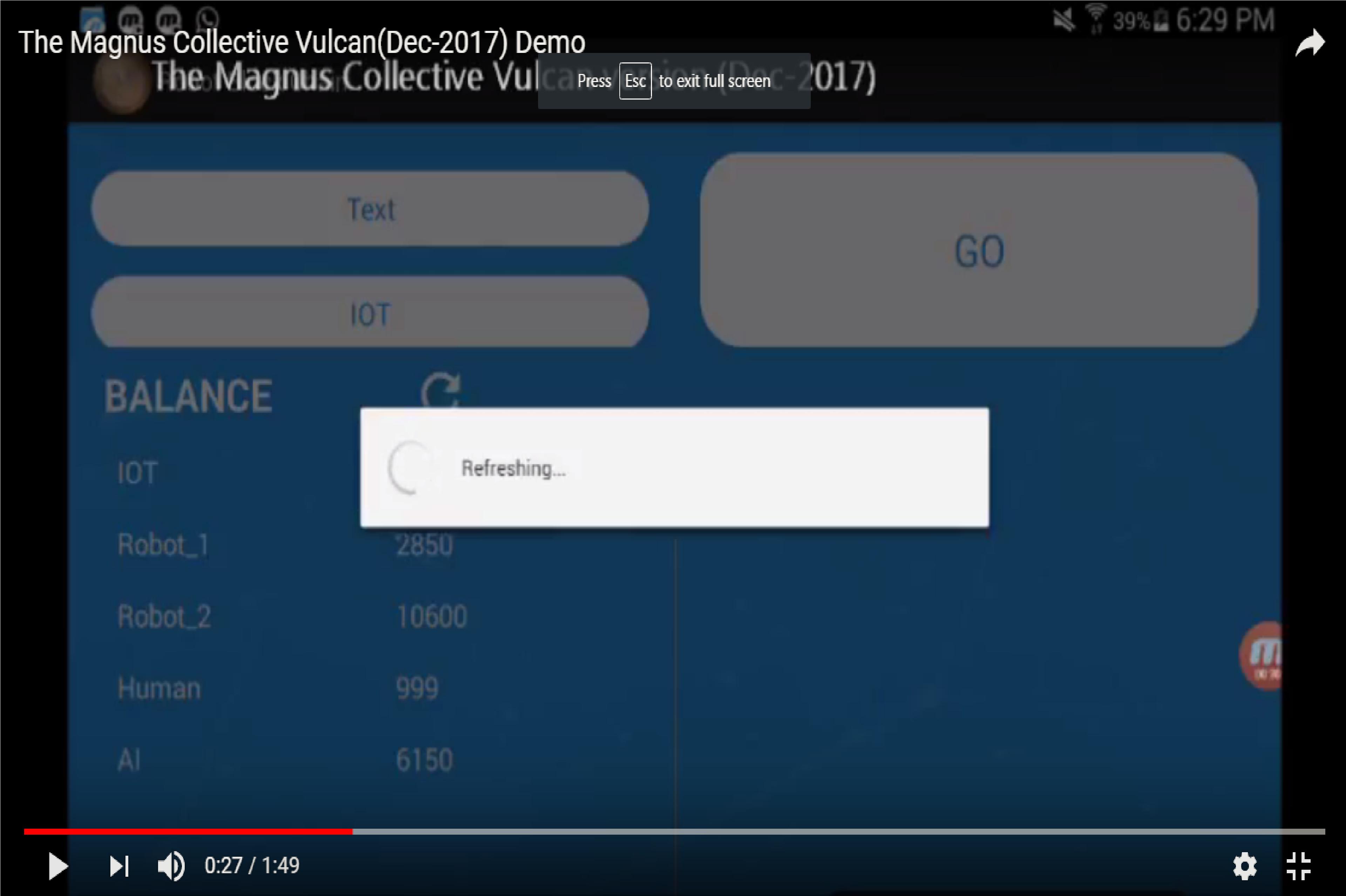 Vulcan Demo