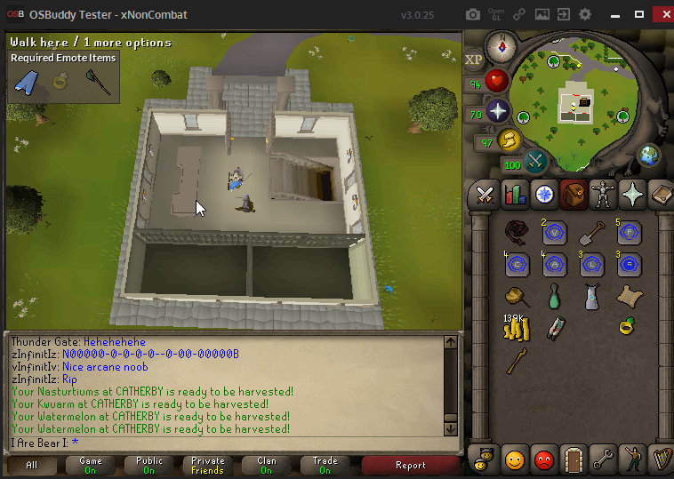 Clue Scroll : Clap in Seers court house  Spin before you talk to me