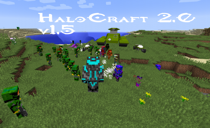 HaloCraft 2.0 Cover Pic