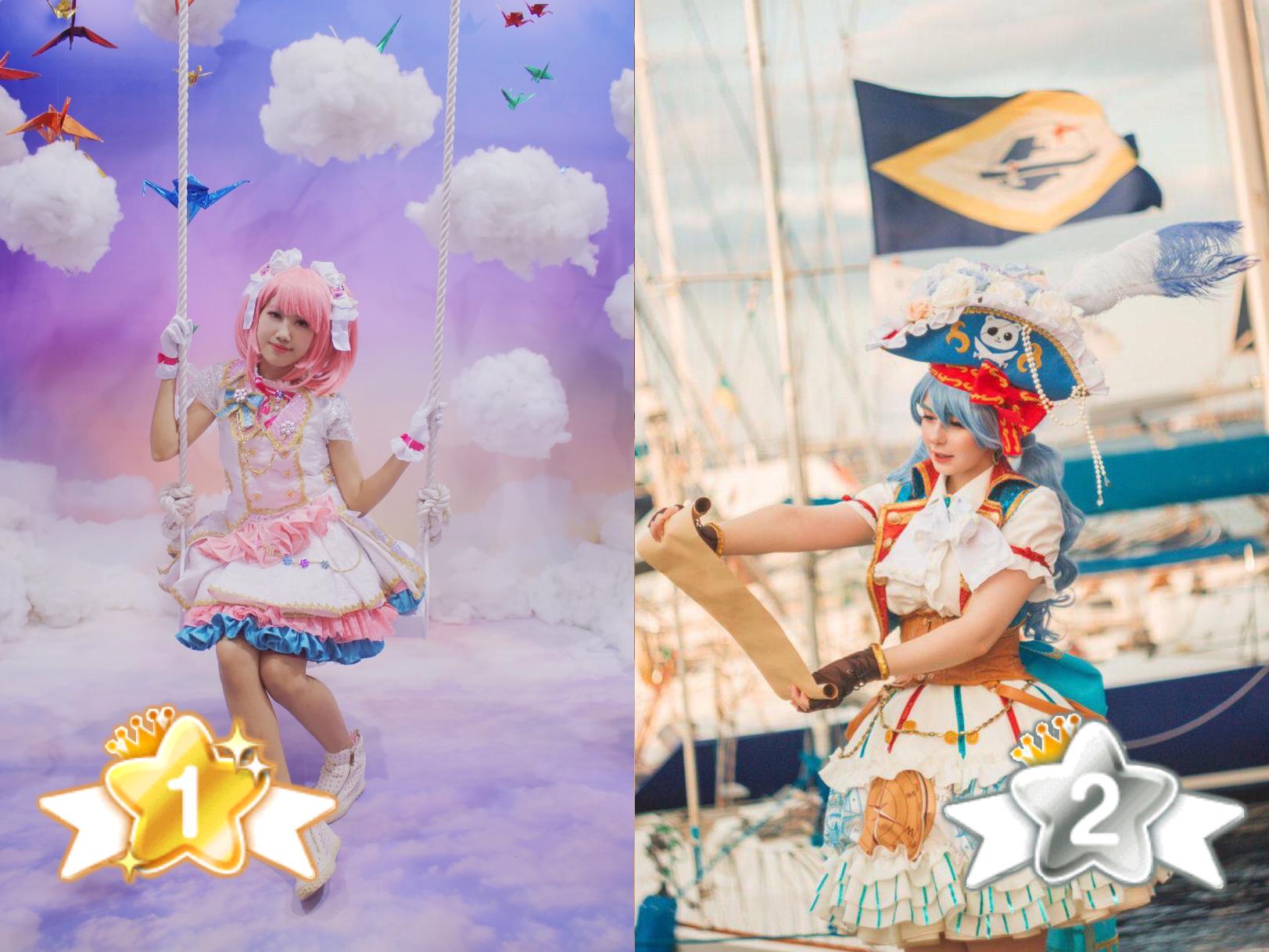 Suzu's choice 1st and 2nd winners