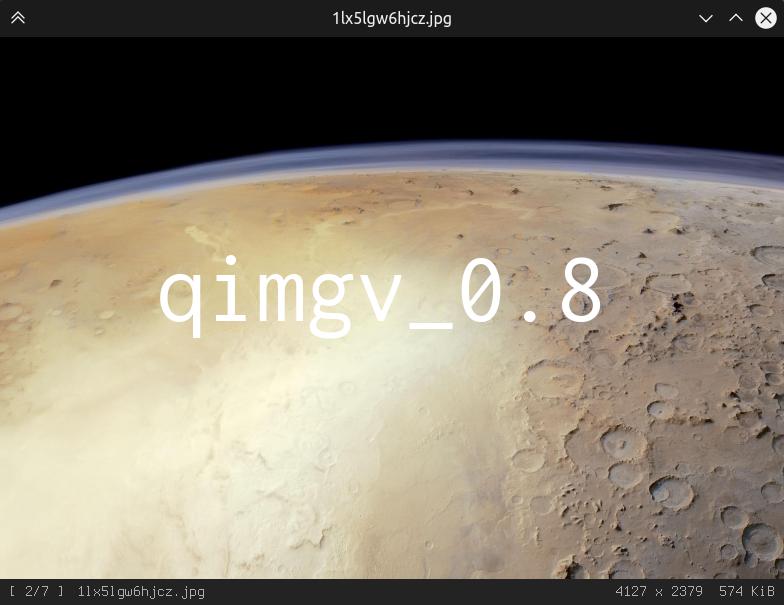GitHub - easymodo/qimgv: Qt5 image viewer with optional