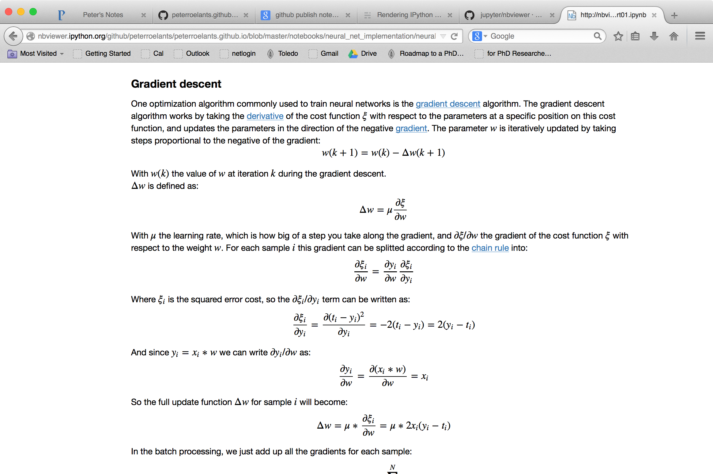 Equations not rendered properly in new github ipython