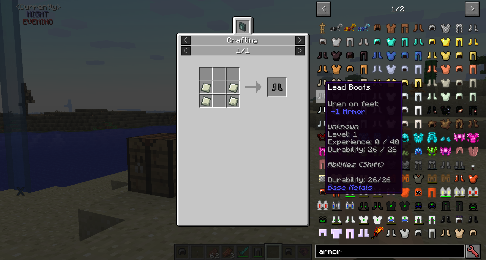 JEI Item list tooltips not updated when recipe changes · Issue #41