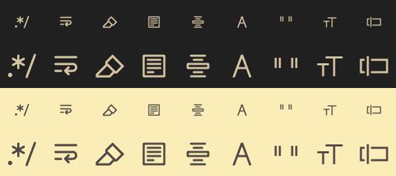 Midstroke Icon Set