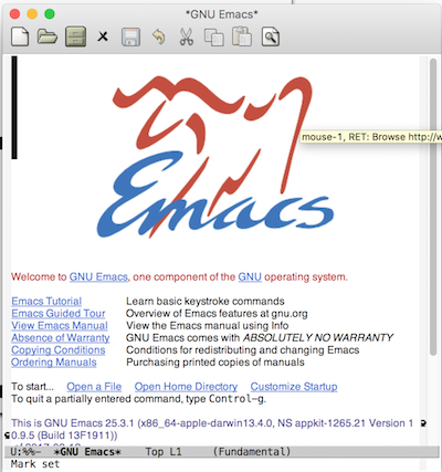 Introduction to emacs for Macaulay2 workshop participants