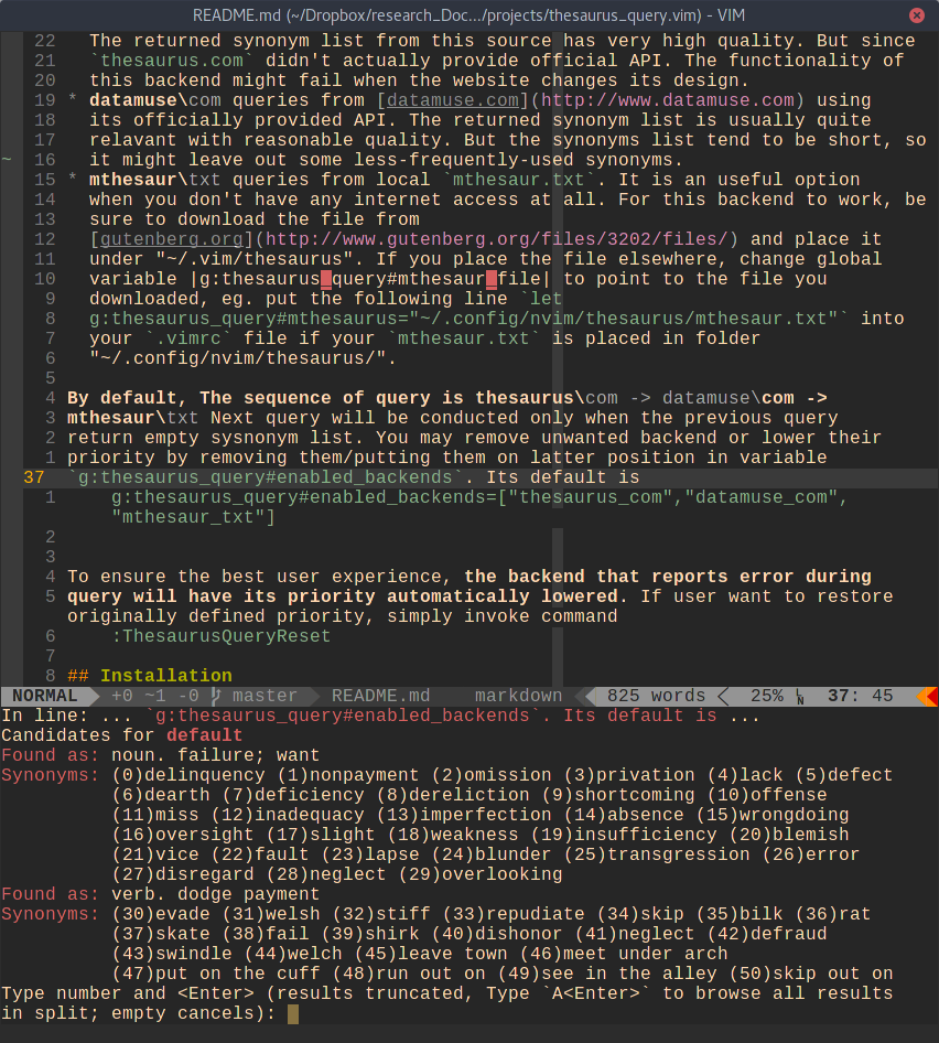 Github ron89 thesaurus multi language for Window synonym