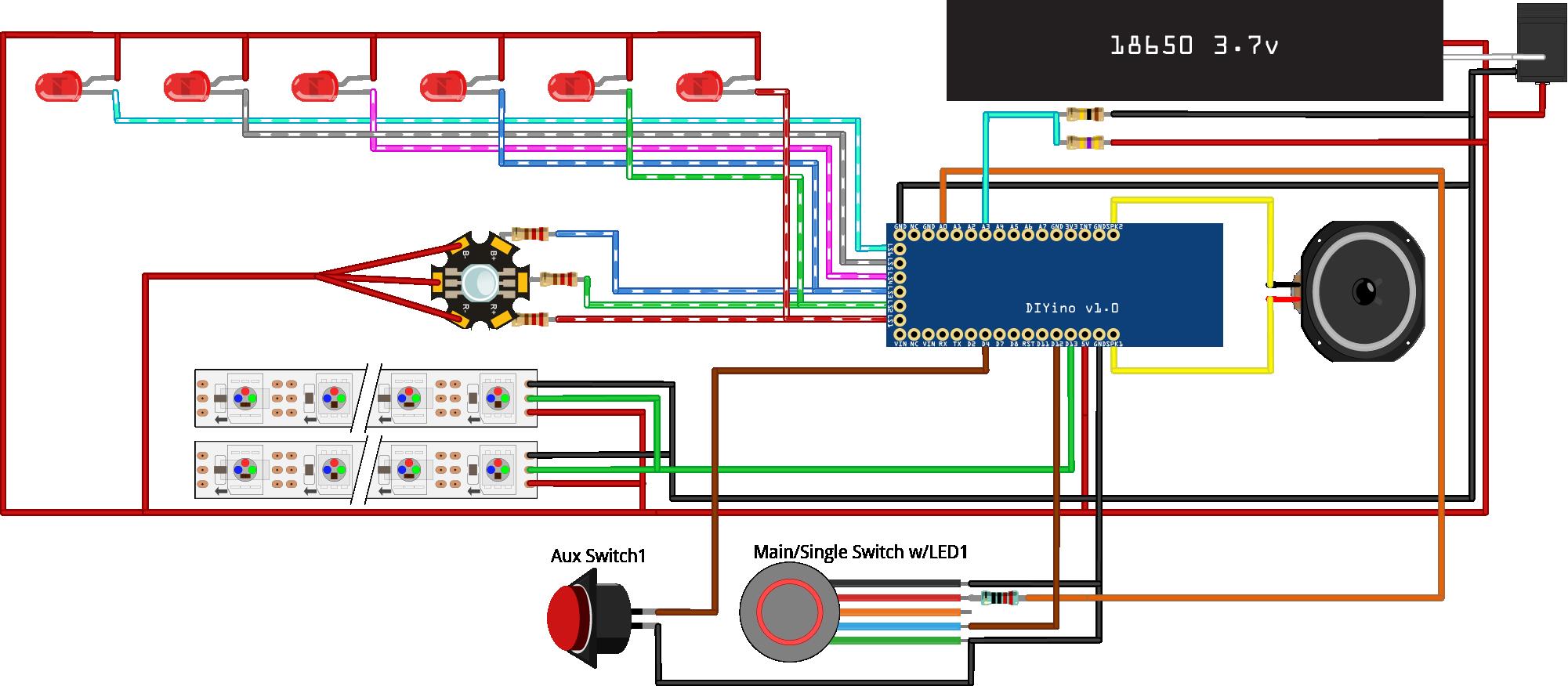Wiring Protonerd Fx Saberos Wiki Github Lightsaber Diagram For Soundboard Diyino