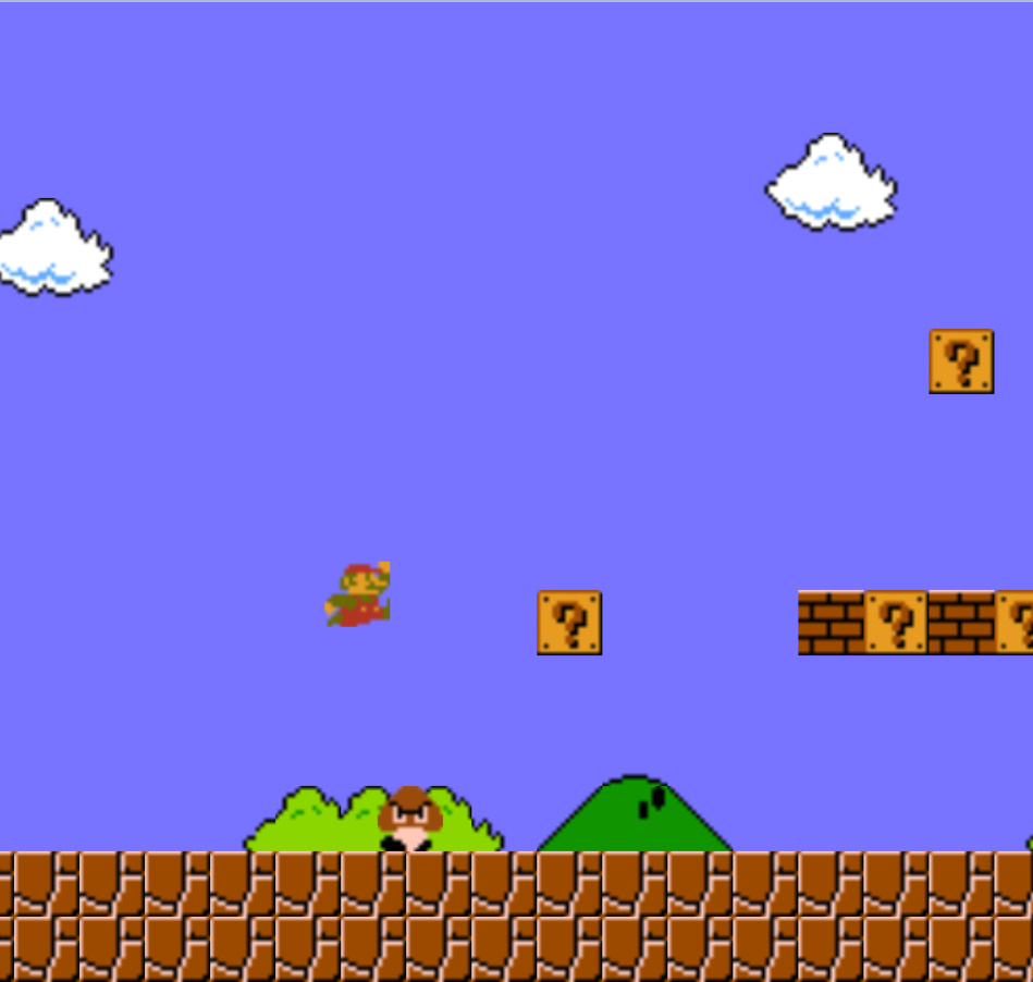 GitHub - reruns/mario: A javascript clone of Super Mario Bros  for