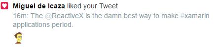 Even Miguel de Icaza agrees