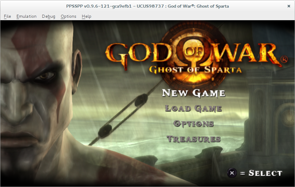 PPSSPP Qt: God of War - Ghost of Sparta - crashes on loading game