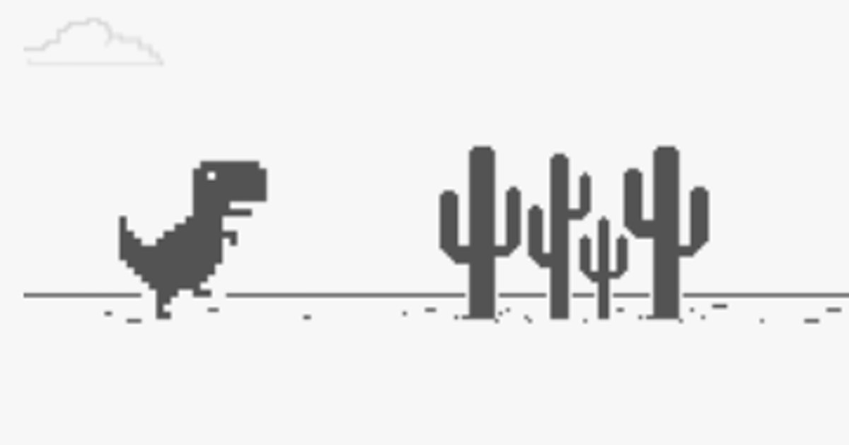Github Quickinline Chrome Dino Hack This Is A Chrome Dino Game Js Script Hack Made During Devfest2020
