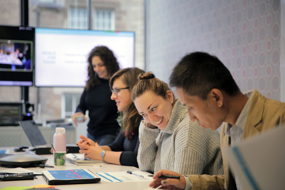 Skyscanner Office: Collaborating