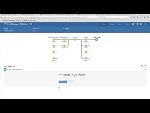 OpenShift Build Pipeline - Part 07 -  Productive Deployment