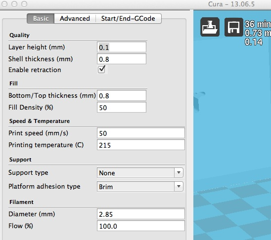 Plugins Tab doesn't show on Mac OSX with Cura 13 06 5