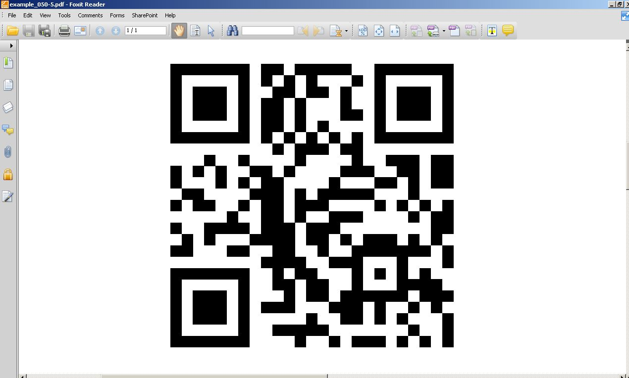 QR Code from TCPDF not displayed and printed correctly · Issue #3331