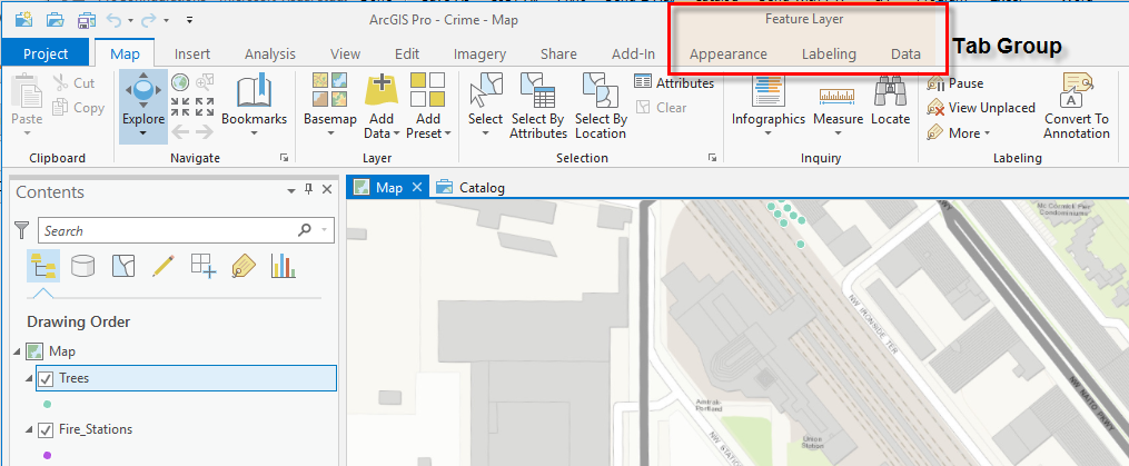 ProGuide Ribbon Tabs and Groups · Esri/arcgis-pro-sdk Wiki