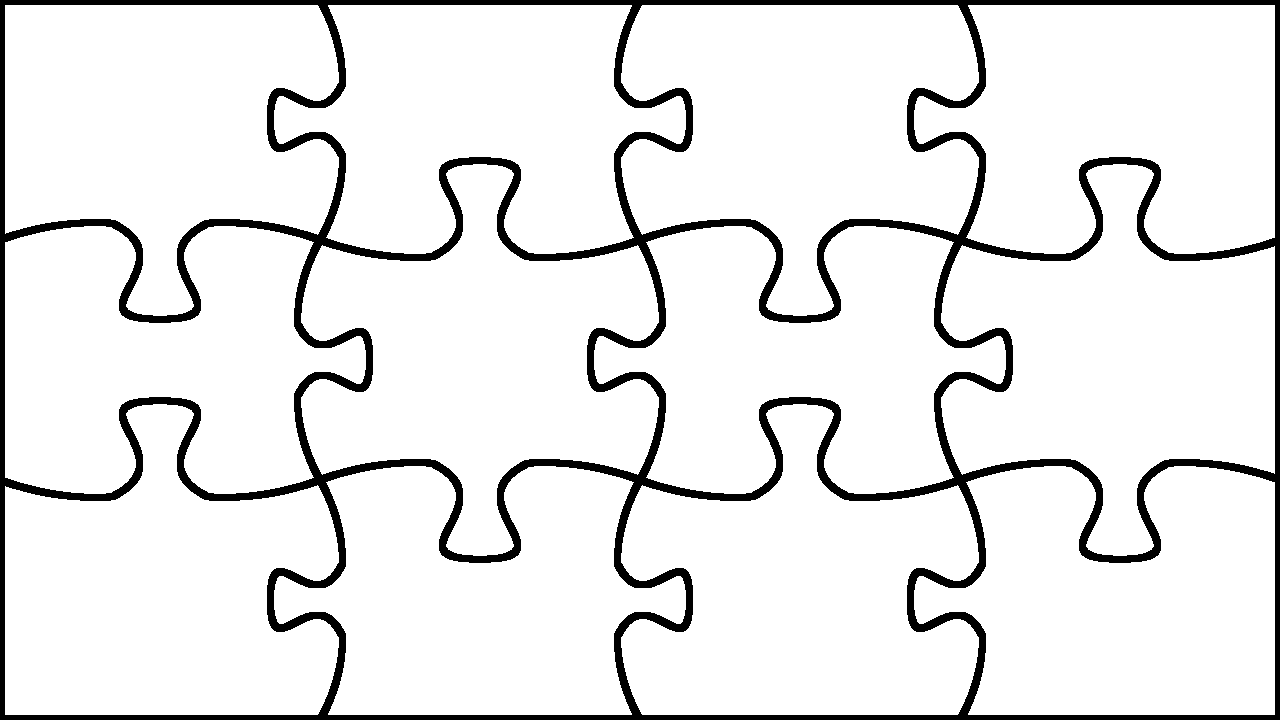 Jigsaw puzzle piece template printable
