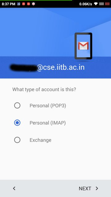 Operating IIT Bombay CSE account with Android Gmail App · GitHub