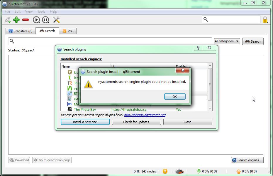 Plugin fails to install  · Issue #1 · Yukariin/qBittorrent