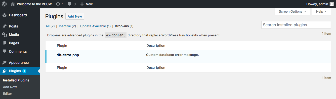 Tests for wp plugin list --status=dropins are fragile · Issue #57