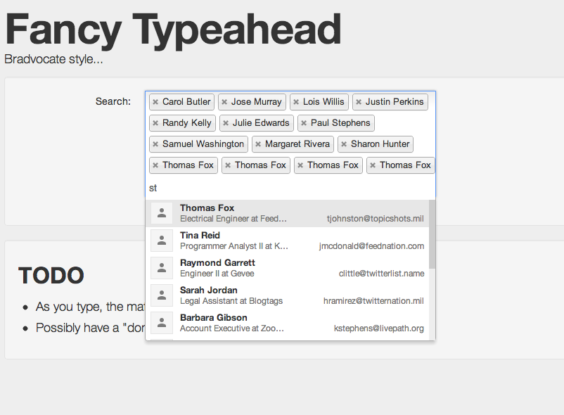 Ajax Reload of typeahead results leads to duplicate results