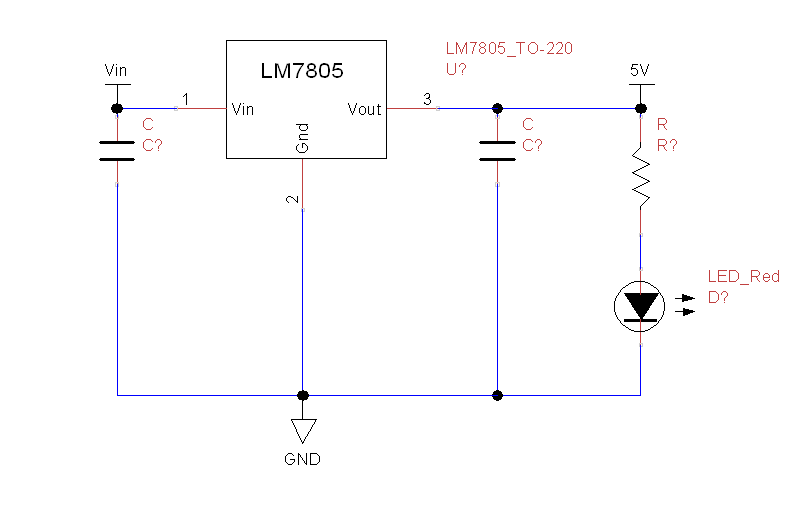 powered circuit