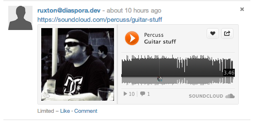 Soundcloud oEmbed