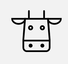 Cow icon by Dmitry Mirolyubov