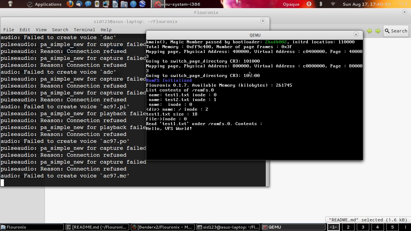 GitHub - Benderx2/Flouronix: A 32-bit OS written in C