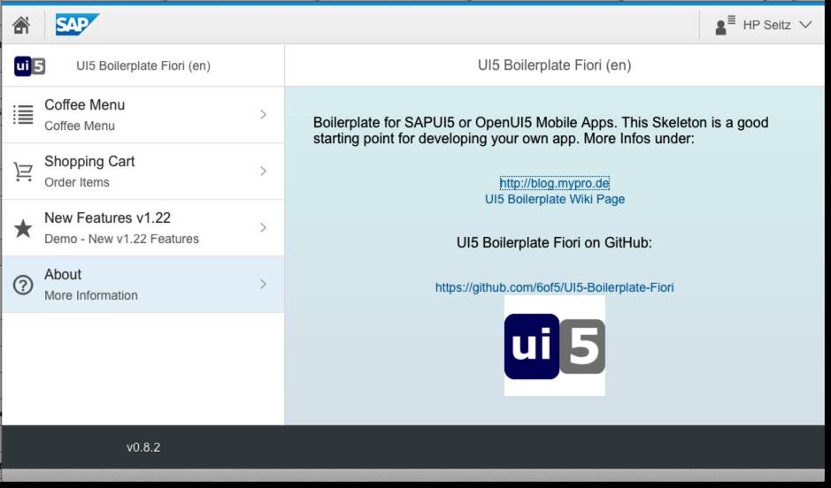 GitHub - 6of5/UI5-Boilerplate-Fiori: UI5 Boilerplate - Fiori