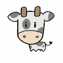 cow chibi by Mimi-The-Turtle