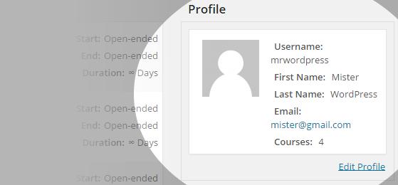 CoursePress - Instructors - Profile