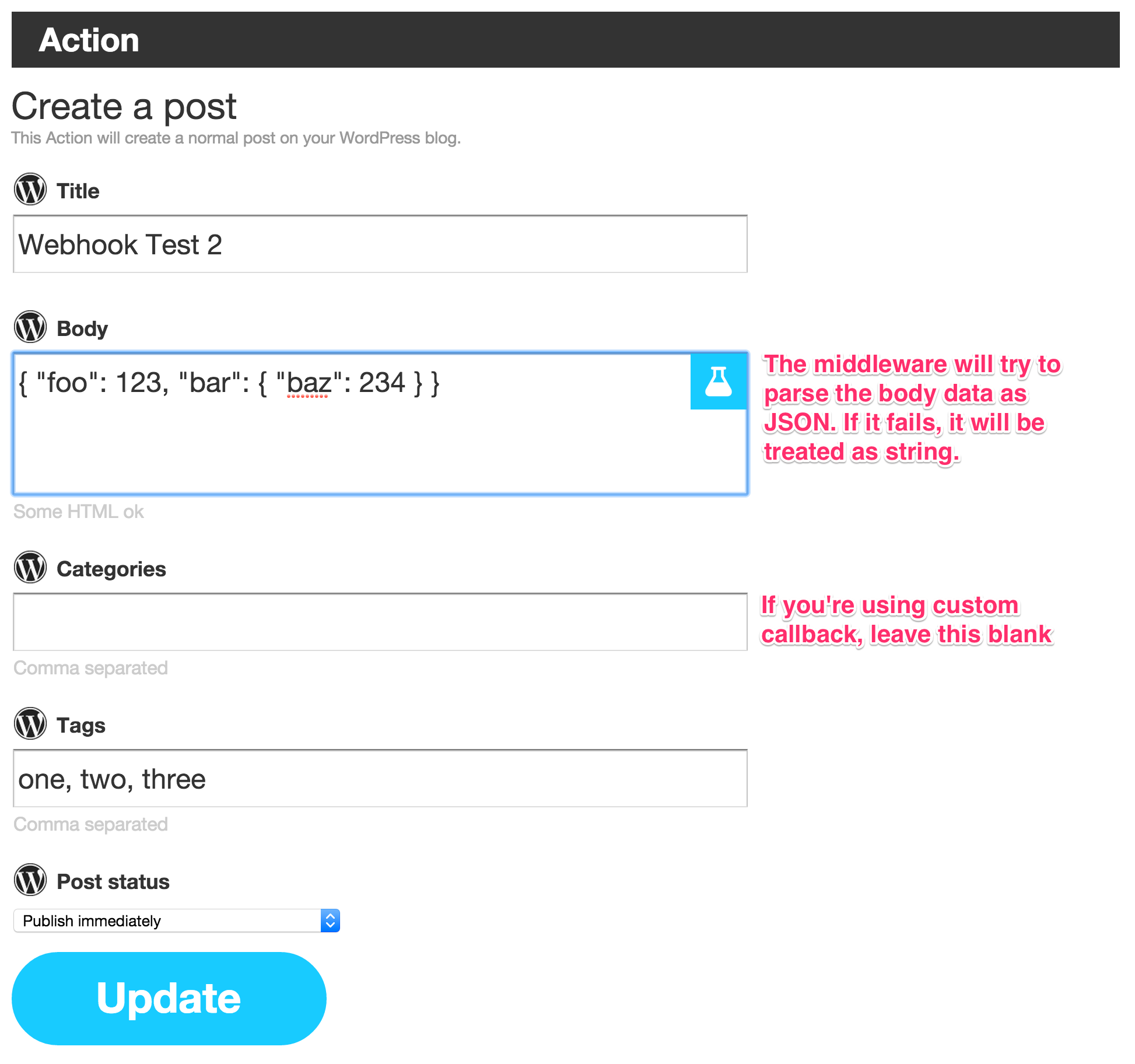 Github B00gizmexpress Ifttt Webhook A Middleware To Plug Your