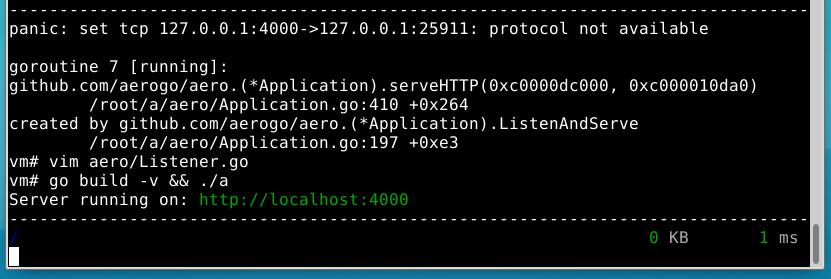 Aero on OpenBSD