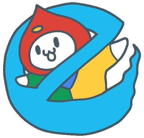 IE Buster Logo Illustration