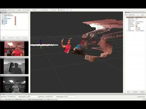 Sample RVIZ Footage of RealSense D435
