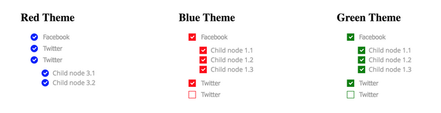 GitHub - agutoli/react-styled-tree-checkbox: Modular/Simple Tree