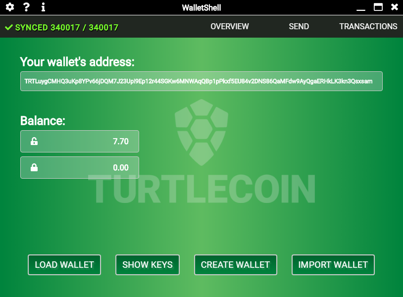 Overview Tab
