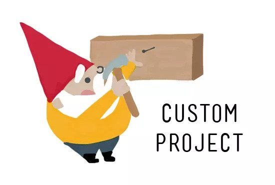 Do you have Custom Web Application Project or Jobs?