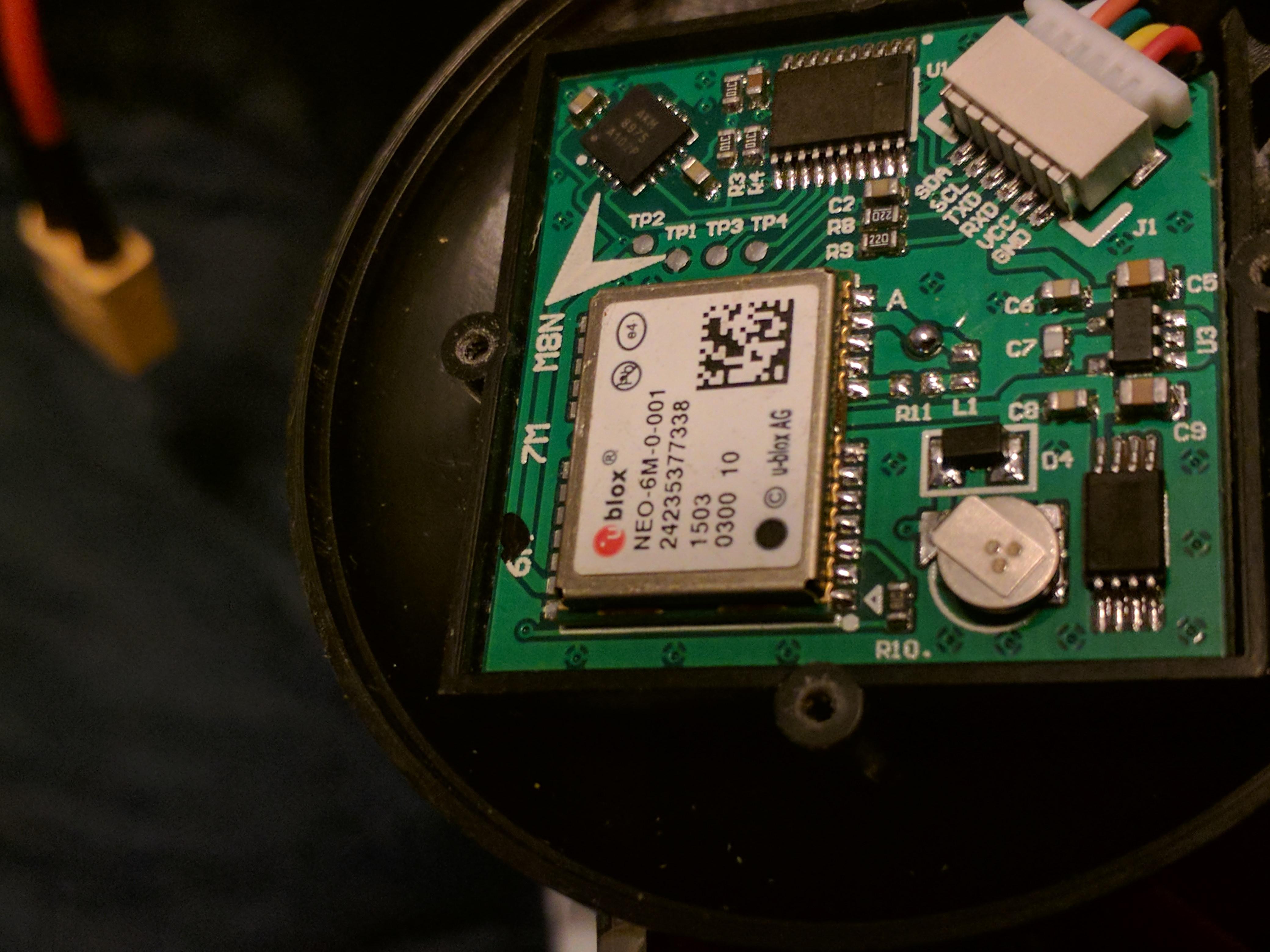 MAG AKM8975 being detected as HMC5883 with crazy sensor