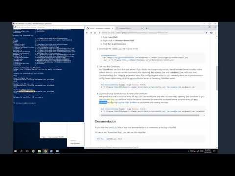 GitHub - dansmith65/FileMaker-LetsEncrypt-Win: A PowerShell
