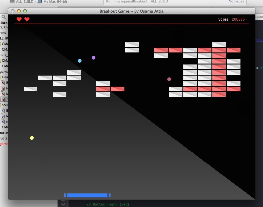 GitHub - ogamal/breakout: Breakout game in C++ using OpenGL