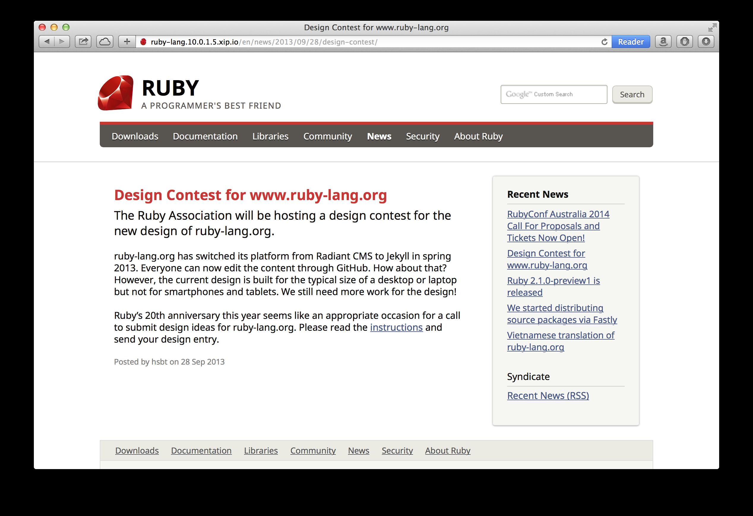 ruby-news