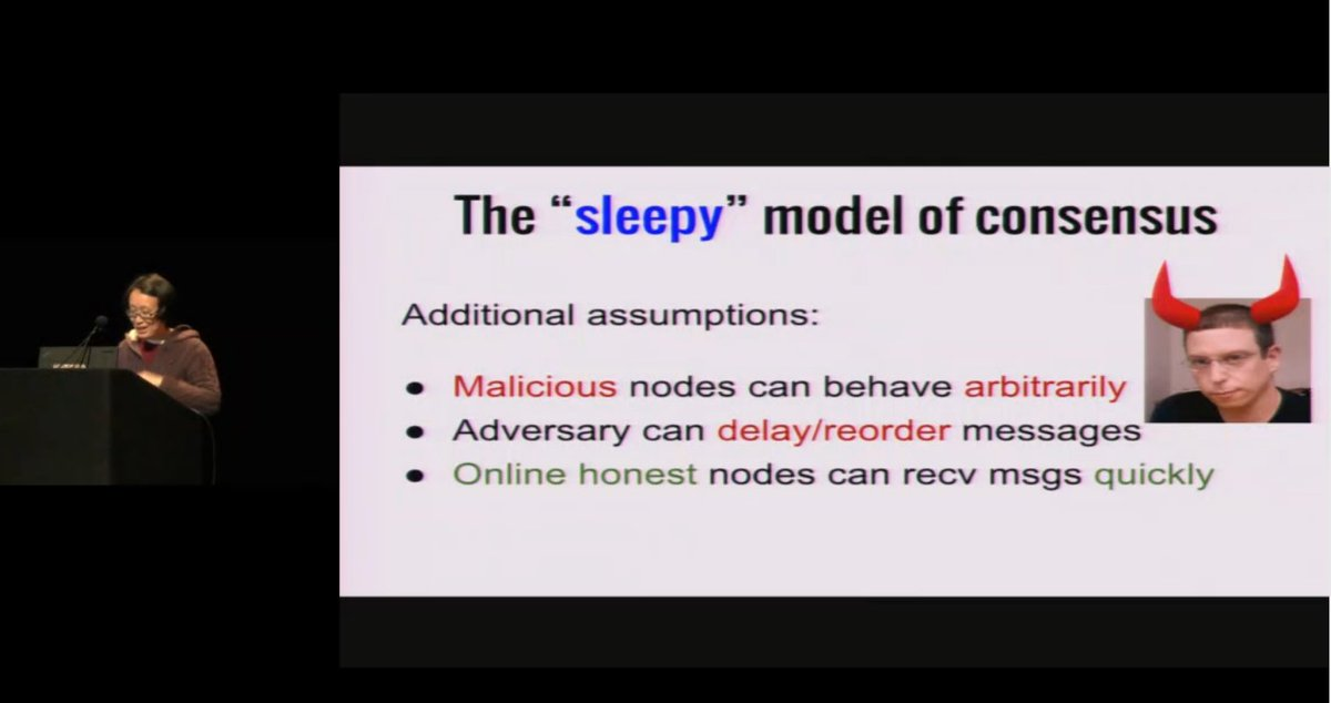 Sleepy Consensus