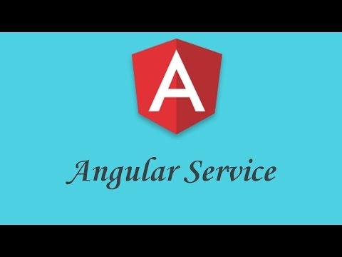 Miniature Angular Service tutorial