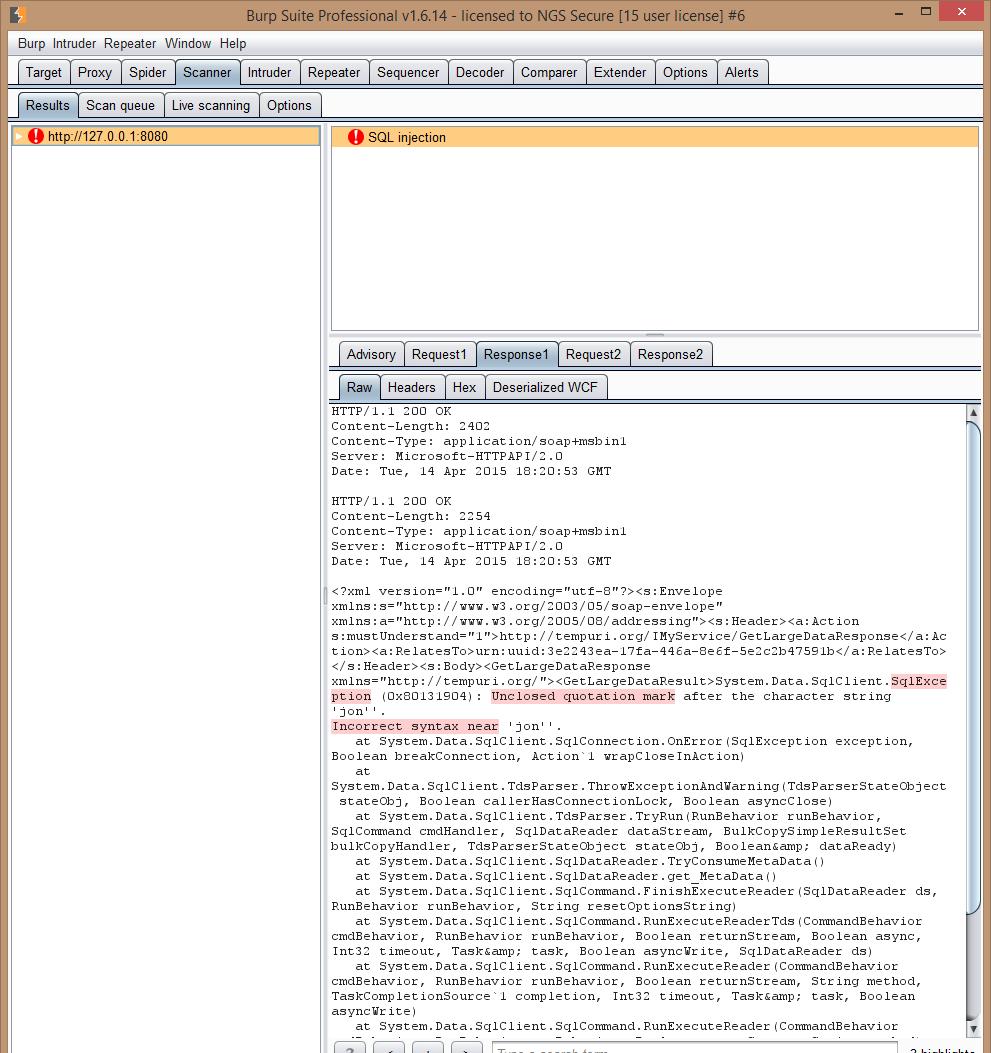 GitHub - PortSwigger/wcf-deserializer: A Burp Extender plugin, that