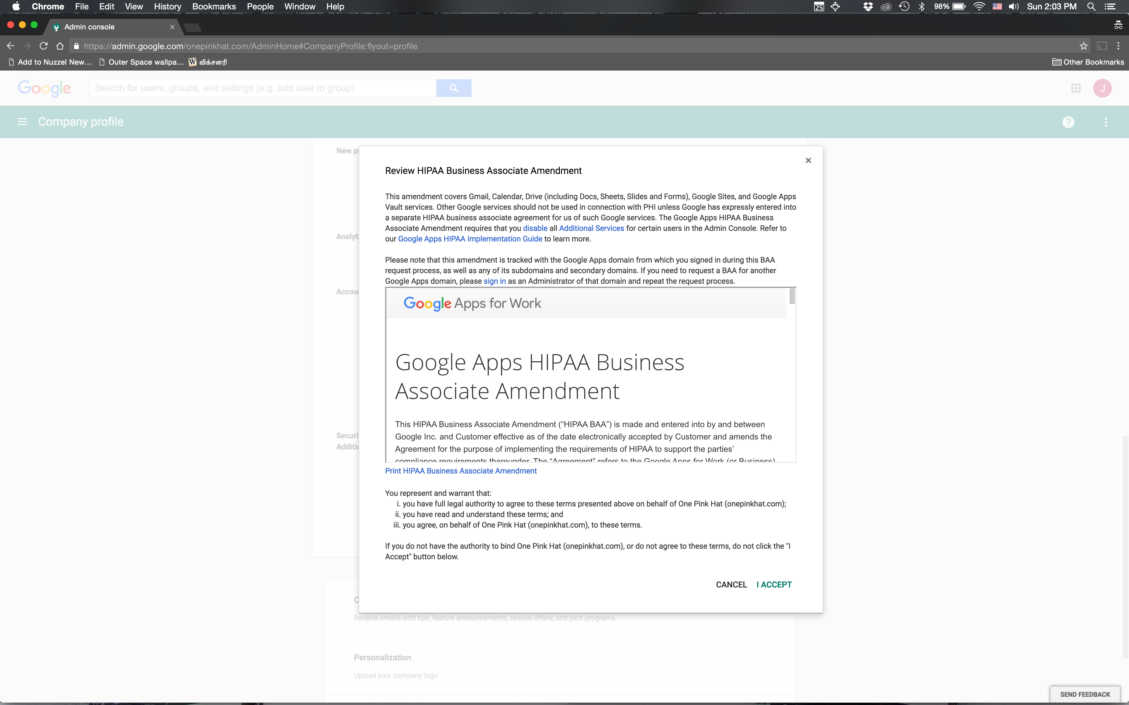g suite how to see when user was added