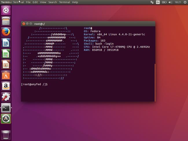 GitHub - nmilosev/anyfed: Universal Fedora chroot tool