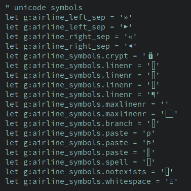 Some unicode symbols still not displayed with urxvt or xterm